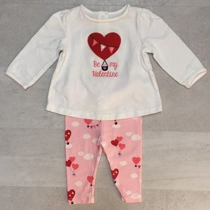Gymboree Valentine outfit